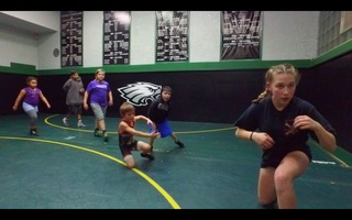 Girl wrestler takes down barriers & boys