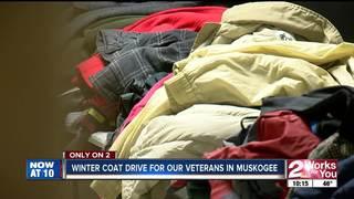 Winter coat drive helping veterans in Muskogee