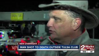 Man dies after shooting outside midtown club