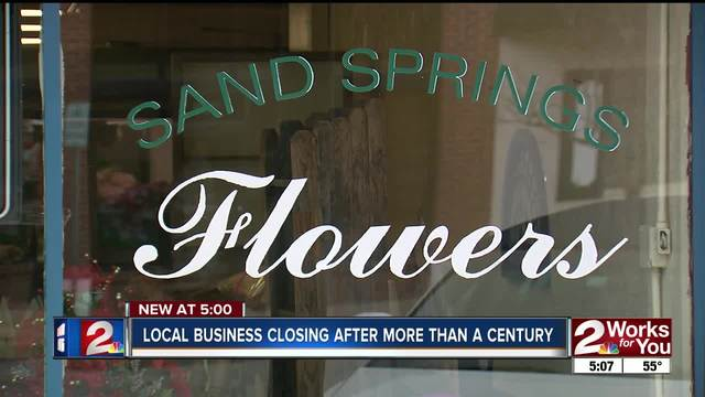 Flower shop in sand springs closing after 109 years kjrh copyright 2017 scripps media inc all rights reserved this material may not be published broadcast rewritten or redistributed sand springs flowers mightylinksfo