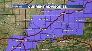 Winter weather advisory issued until 6 a.m.