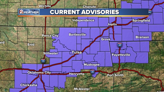 Winter weather advisory issued; evening commute may get messy