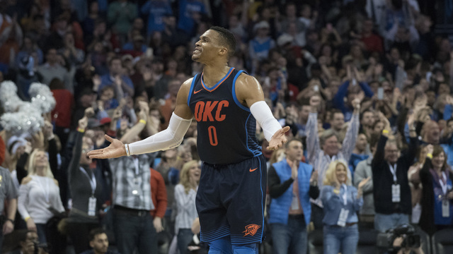 Russell Westbrook Gets Into Heated Altercation With Jonas Valanciunas