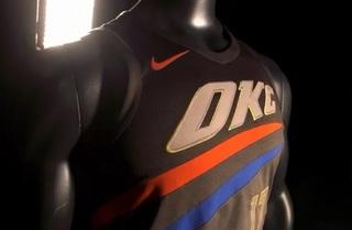 Oklahoma City Thunder reveals new jerseys