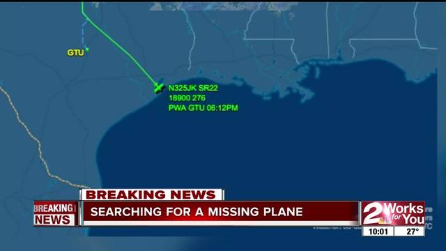 Missing pilot last seen over the Gulf of Mexico has Lincoln ties