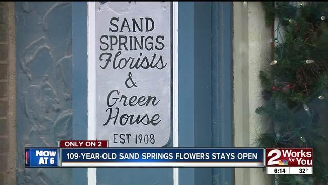 New owner taking over 109 year old sand springs flowers kjrh mightylinksfo