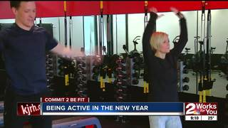 Commit 2 Be Fit: Being Active in the New Year