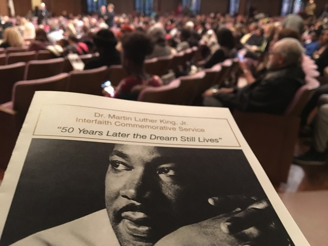 Locals gather to celebrate Martin Luther King Jr