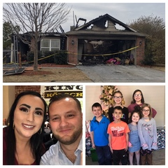 Jenks family of eight loses home in fire