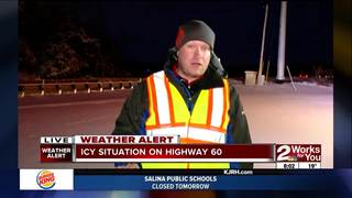 Crews working to clear Eastern Oklahoma roads
