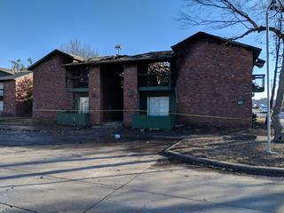 Girl hurt in Muskogee apartment complex fire