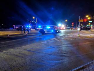 One person is killed in an auto-pedestrian crash