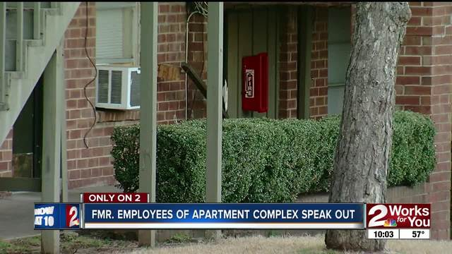 Former employees of apartment complex speak out