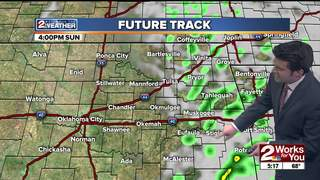 Forecast: Mild Sunday with some showers