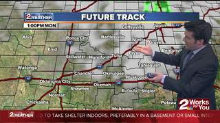 Forecast: Cooler Monday & Still Windy