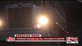 Quinton neighbors witness rig explosion