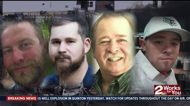 Houston company says workers missing after blast