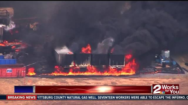 Initial Report Indicates That Uncontrolled Release Of Gas