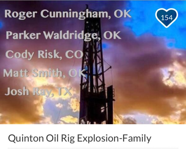 Five Dead In Oklahoma Drilling Rig Blast ID'd