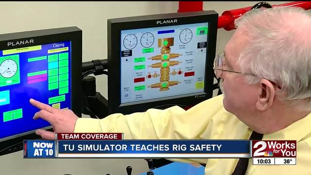TU simulator teaches rig and drilling safety