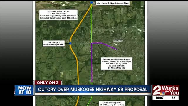Petition Circulating In Muskogee Opposing Highway 69 Realignment