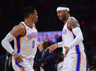 Thunder stars Westbrook, Anthony to return