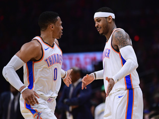 Thunder stars Westbrook, Anthony to return