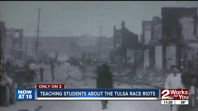 New lesson plan aimed at teaching 1921 Race Riot