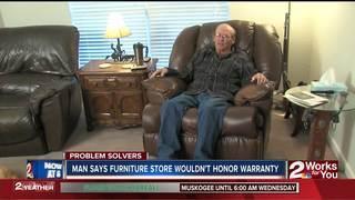 Man says company not honoring lifetime warranty