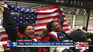 American flag at Olympics flown in Tulsa