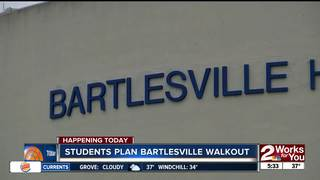 100 Bartlesville students will walk-out Friday