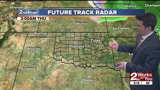 Forecast: A break from the rain for now