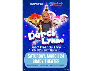 Contest: Two tickets to Darci Lynne & Friends