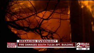 Fire damages South Tulsa apartment complex