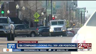 BA companies looking to fill 300 job positions