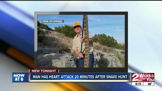 Florida woman films surprise encounter with very big rattlesnake