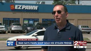 Problem Solvers: Item stolen, sold at pawn shop