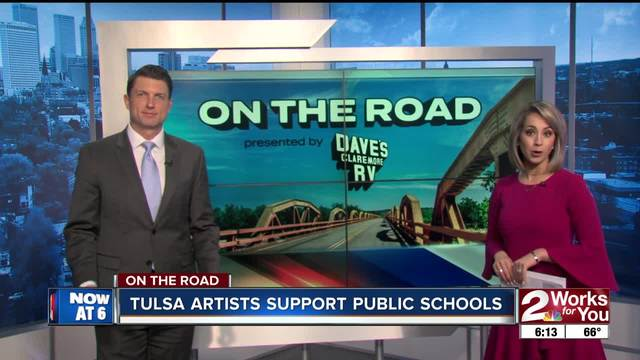 On the Road- Tulsa Artists Support Public Schools