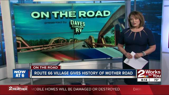 On the Road- Route 66 Village Gives History of Mother Road