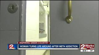 Woman turns life around after meth addiction