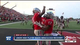 Union High athlete makes miraculous recovery
