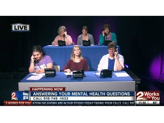 Mental health phone bank open Wednesdays in May