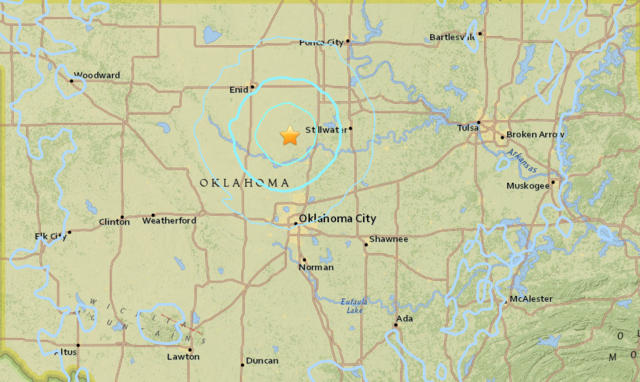 USGS: 4.0 magnitude natural disaster recorded near Crescent