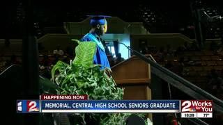 Memorial, Central HS seniors graduate