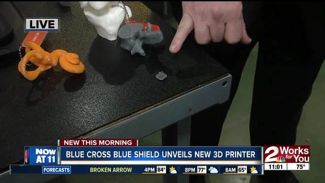 Fab Lab Tulsa Unveils New 3d Printer To Help Medical Students Study