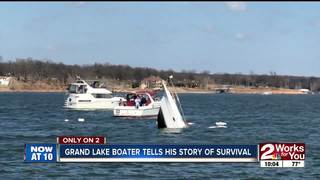 Grand Lake boater tells his story of survival