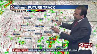 Forecast: Scattered afternoon storms