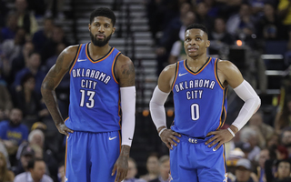 Westbrook, George named to All-NBA teams