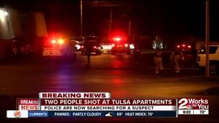 2 people hurt in North Tulsa shooting