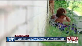 New ordinance will affect Tulsa homeless living